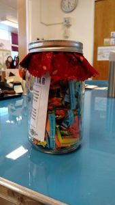 Memory Jar - Write your biography with the help of this useful tool! Makes a great gift too! $5.00